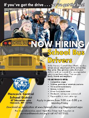 Hancock School Bus Driver Flyer (2020)