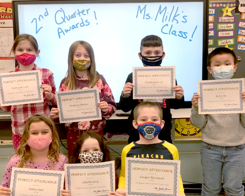 HES Second-Quarter Awards!