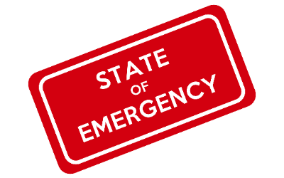 State of Emergency icon (3/2020)
