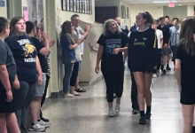 Hancock students clap out