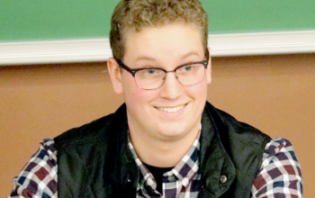 Hancock student Roger Newman 2019