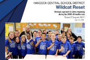 HCSD Wildcat Reset School Reopening Plan cover page (7/31/2020)