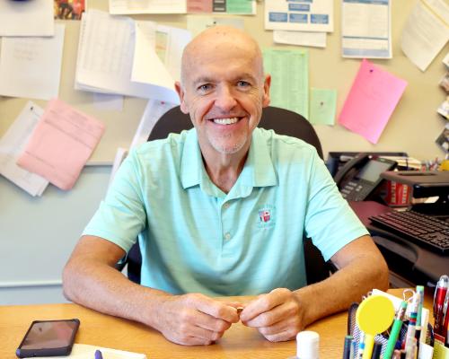 Interim PK-12 Principal Mike Williams (9/2021)