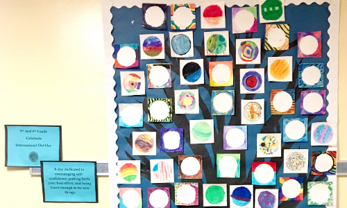 International Dot Day Display 2019