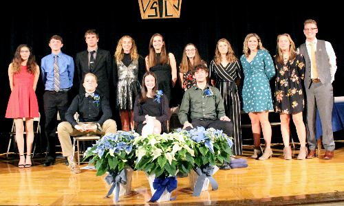 Hancock National Honor Society members 2019