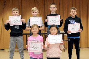 Six HES students on high honor roll 2019