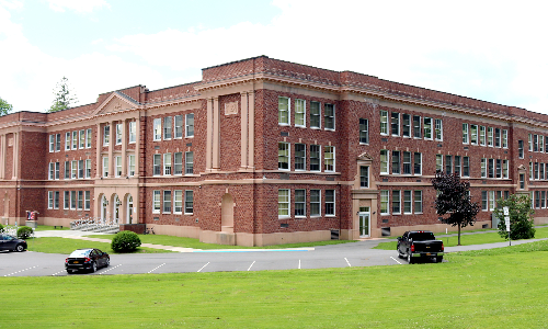 Hancock MS/HS building