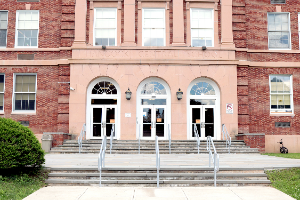 Hancock Central School entrance 2019