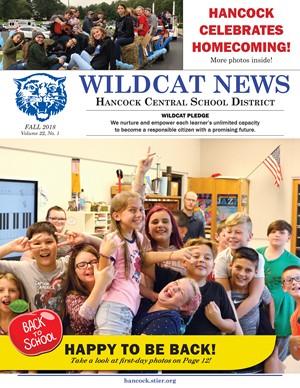 Hancock Fall Newsletter 2018 Cover