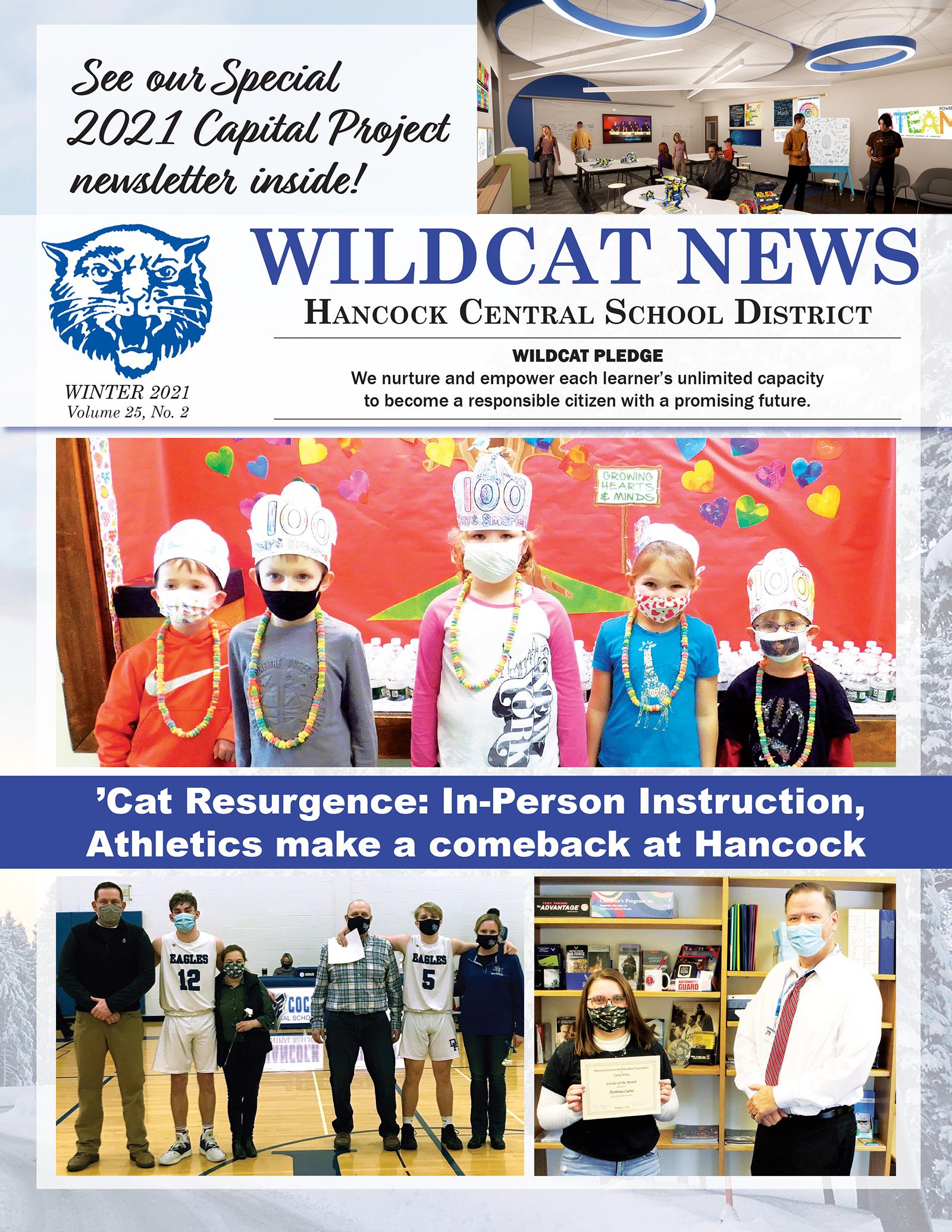 Hancock Winter Newsletter 2021 Cover