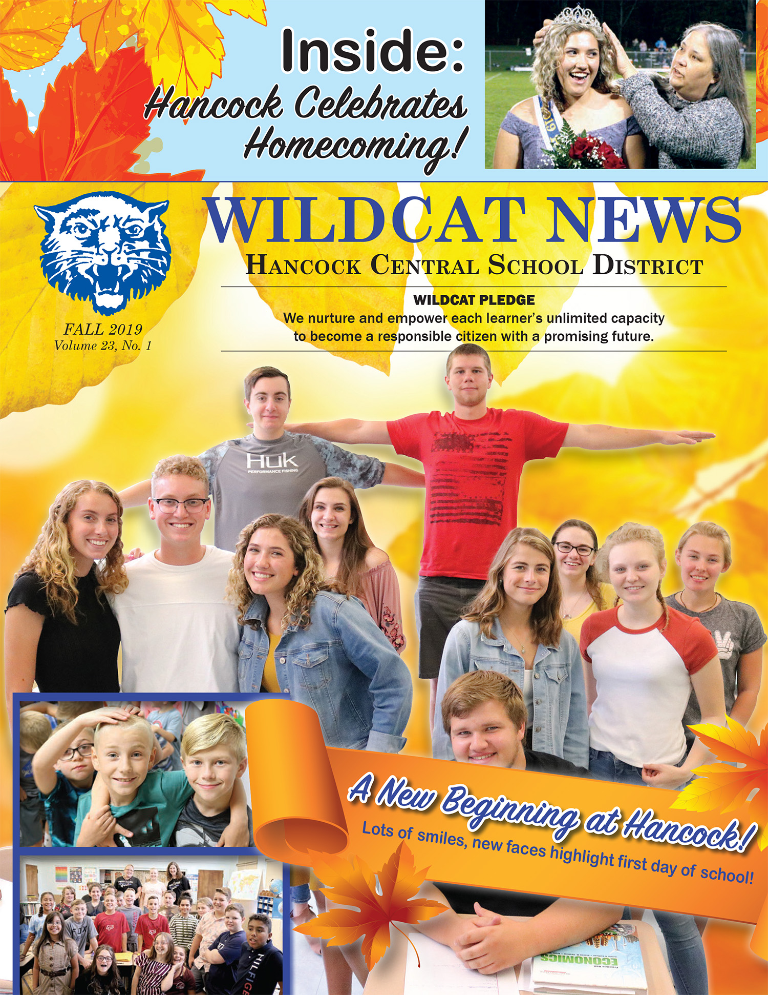 Newsletter cover Fall 2019