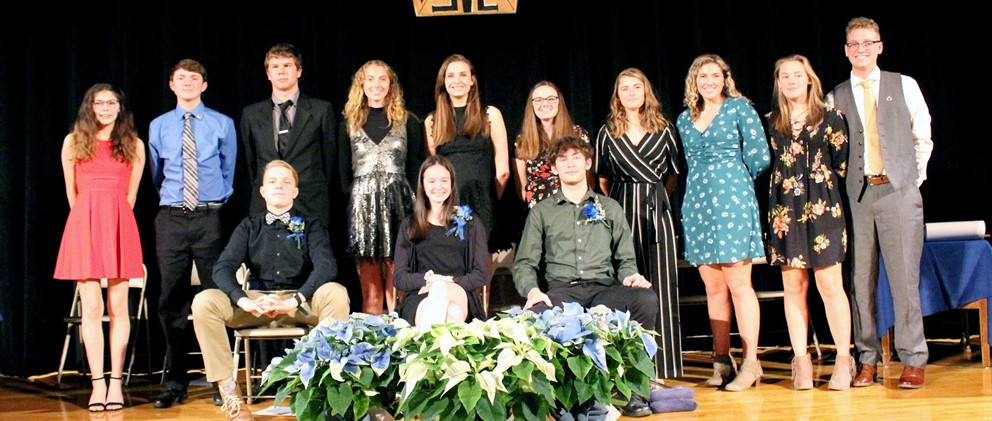 National Honor Society inductions 2019