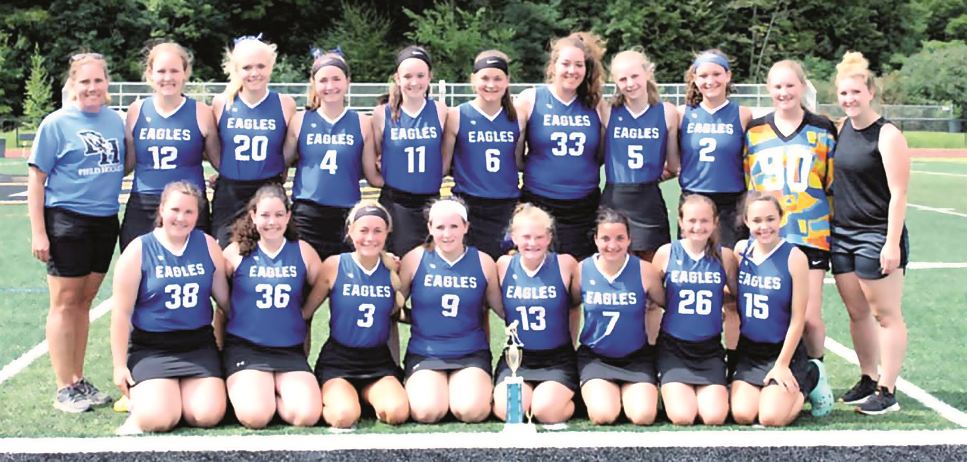 Deposit/Hancock field hockey team 2019