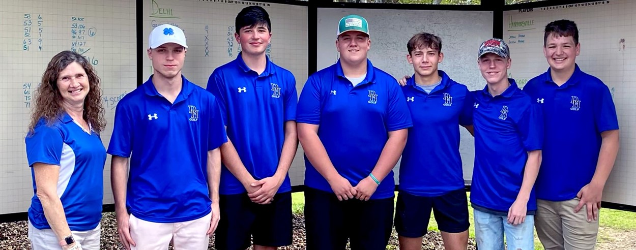 Hancock golfers (10/2021)