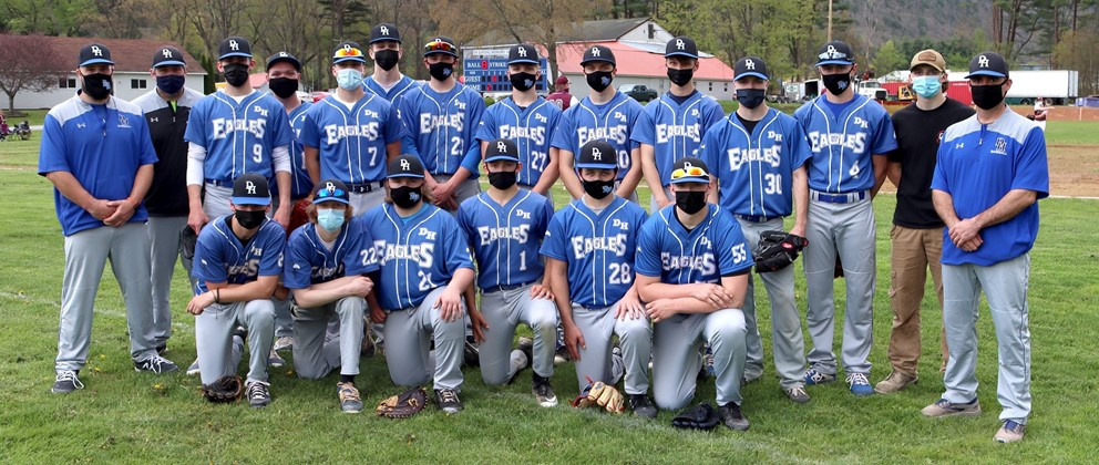 Deposit-Hancock Eagles Baseball Team 2021 (5/2021)