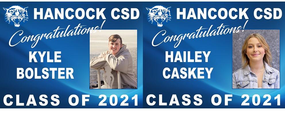 Kyle Bolster and Hailey Caskey
