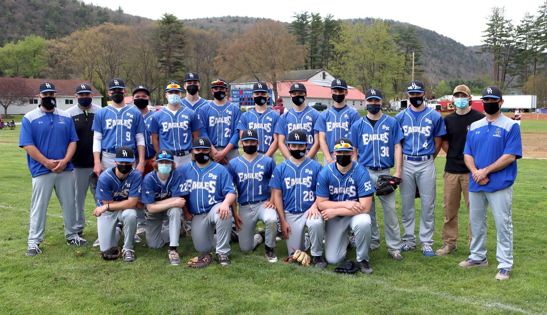 Deposit-Hancock baseball team 2021